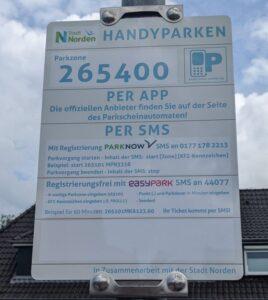 Handyparken am Norddeich